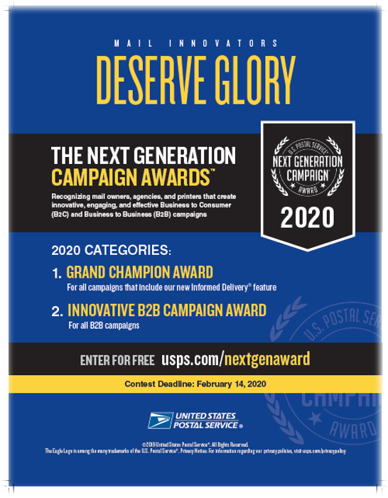 next generation campaign awards 2020