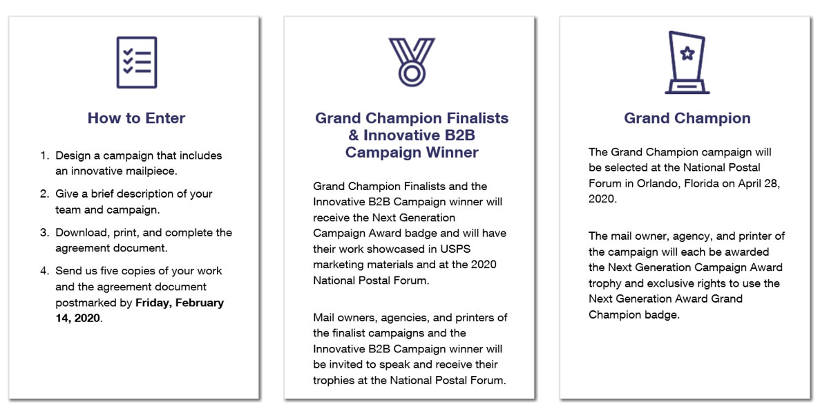 next generation campaign awards how to vertical 2020